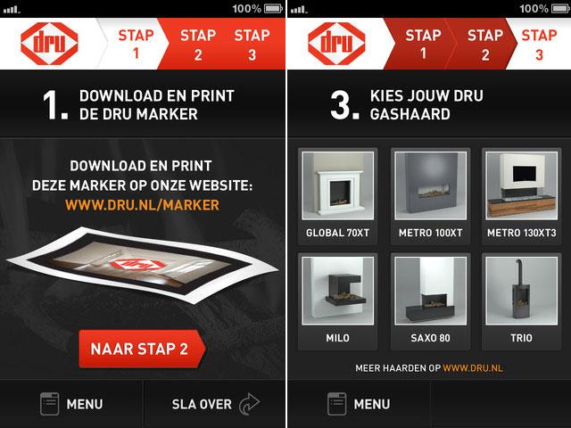 Virtuele haard van dru in 3d in je huiskamer gimmii dutch design - Haard thuis wereld ...