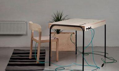 Energieproducerende werkplek van Eddi Törnberg