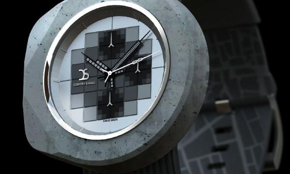 Betonnen-horloge-Dzmitry-Samal