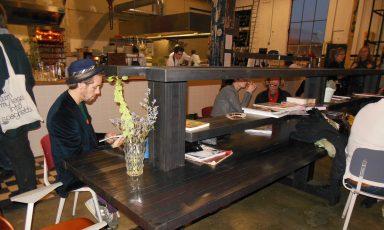 Stoere tafels van Joost van Bleiswijk voor Radio Royaal
