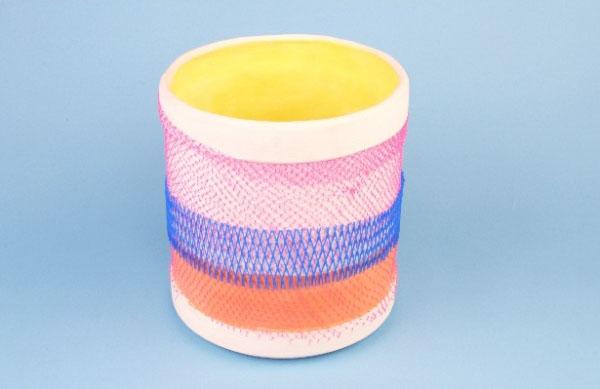 Ceramics for plastic