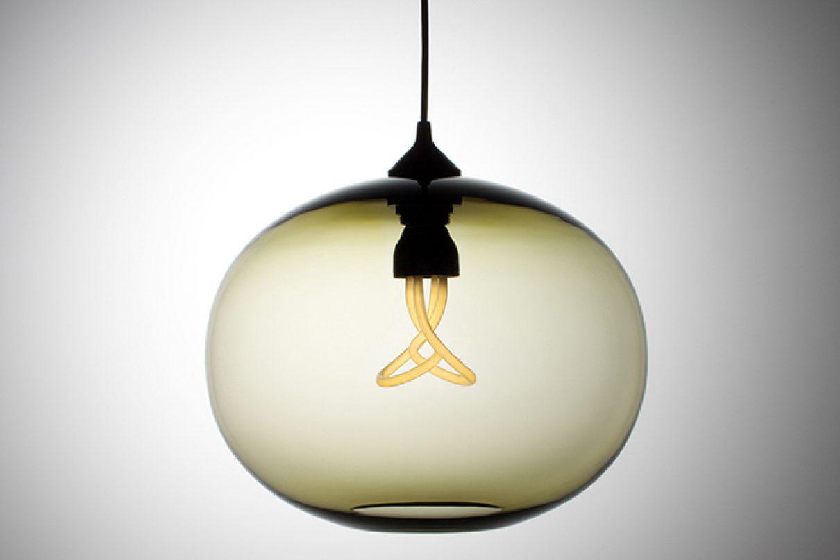 Milieuvriendelijke designlamp Plumen