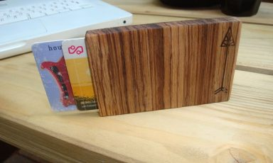 Stylische Wooden Wallet