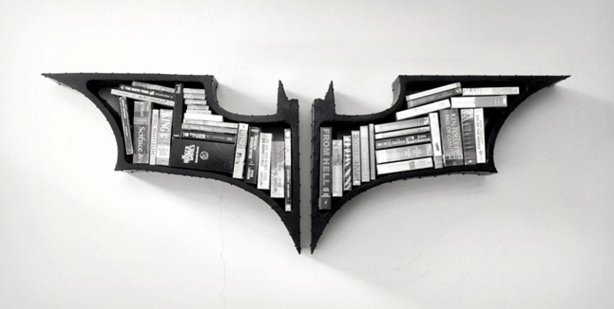 The Dark Knight boekenkast