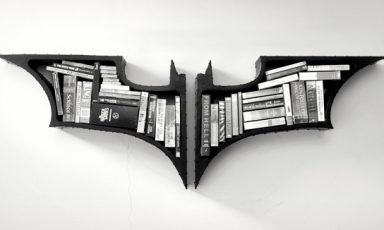 The Dark Knight boekenkast