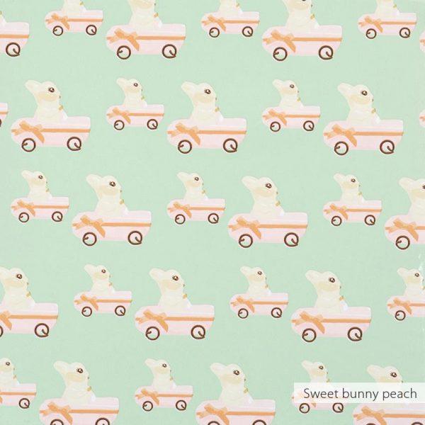 Behang sweet bunny van Studio Ditte en BN Wallcoverings
