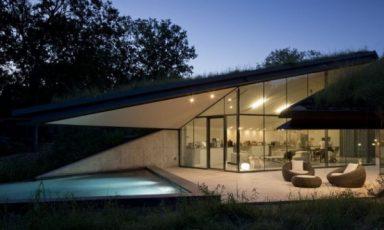 Een huis met pit
