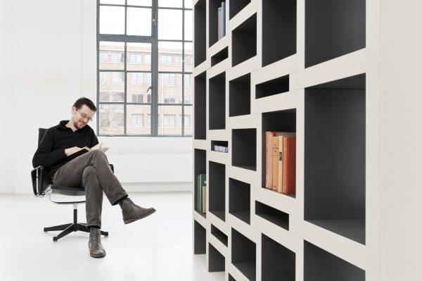 REK boekenkast van Reinier de Jong