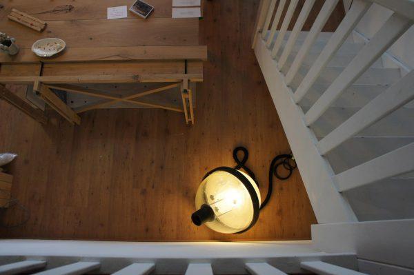 Lamp van oude straatlantaarns