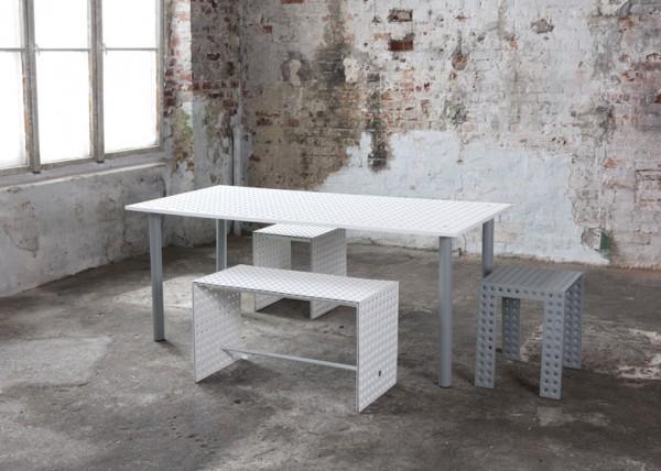 3+ Modulaire meubelcollectie van Oskar Zieta in Milaan