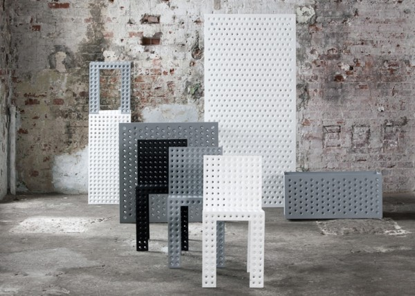 Nieuwe 3 plus meubelcollectie van Oskar Zieta in Milaan