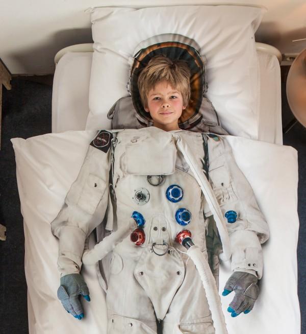 Astronauten dekbedovertrek van SNURK