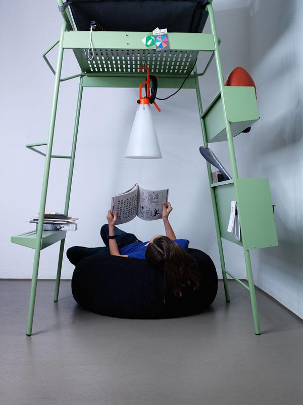 Tur Tur surrogaat boomhut coole stoel van Eric Degenhardt