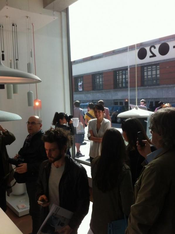Circular hanglampen van Studo WM in Milaan