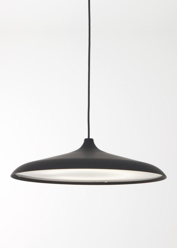Circular lamp zwart- rubber van WM Studio