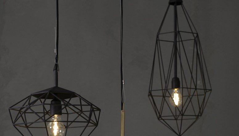 Diamonds hanglampen staal van JSPR