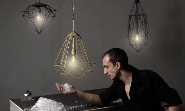Diamonds lampen van JSPR