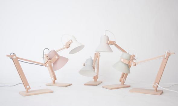 Pixoss lampen in pastel kleuren van MOSS Design Marcel Ossendrijver