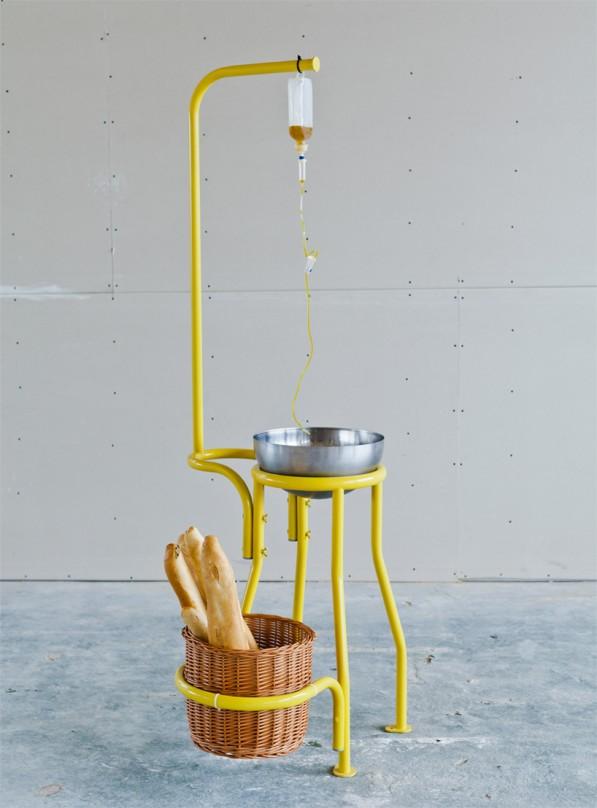 Industriële creatieve keuken The Kitchen van Studio Rygalik