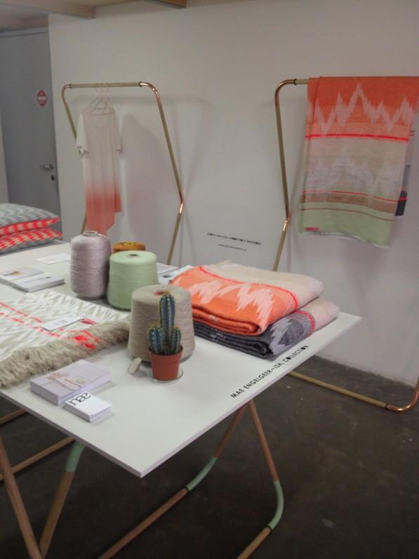 Textielcollectie ISH van Mae Engelgeer met Woodstock kledingrek van Jeroen van Leur
