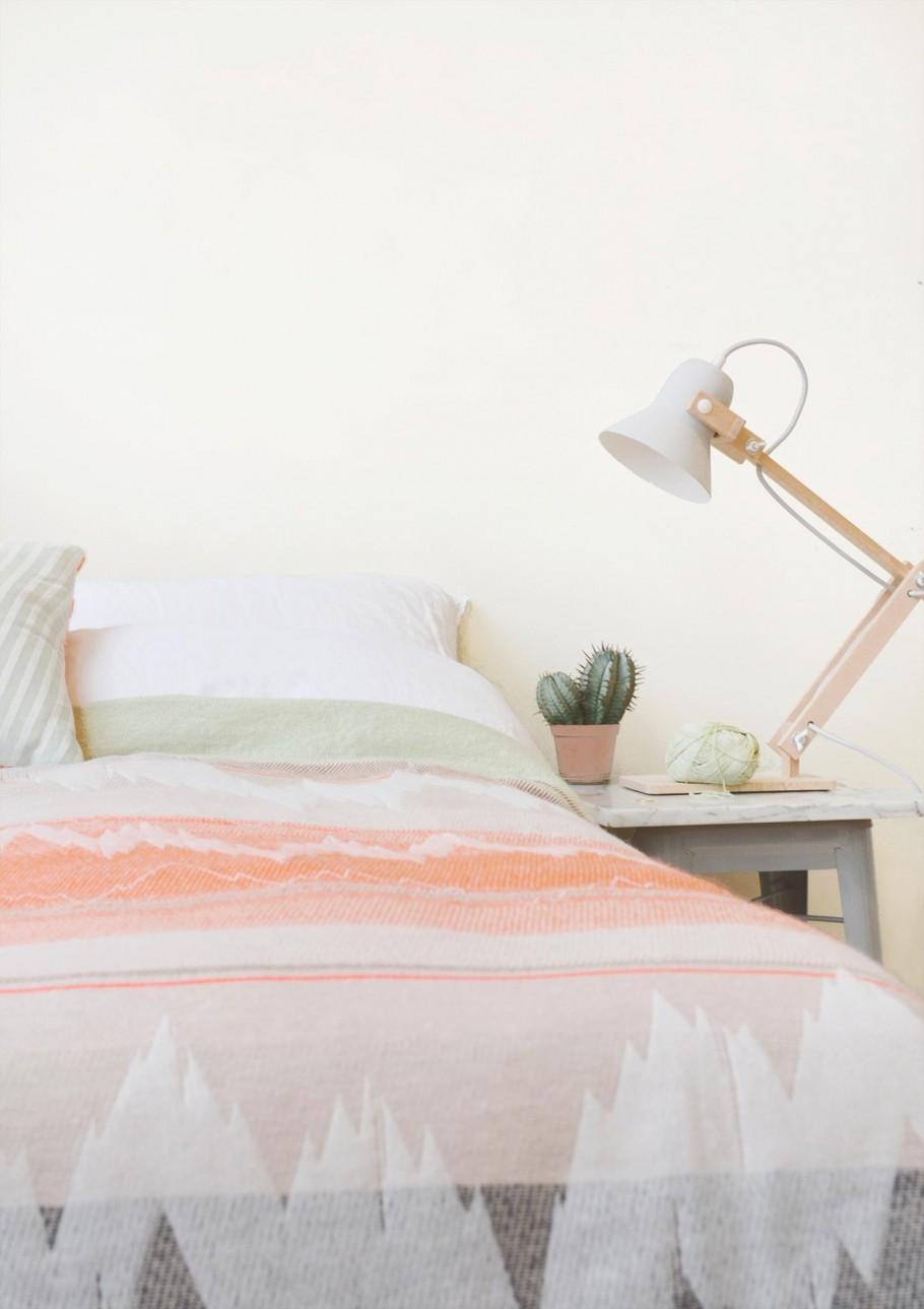 Pixoss lamp van M.OSS Design bij de Textielcollectie ISH van Mae Engelgeer