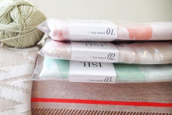 Theedoeken uit de ISH textielcollectie van Mae Engelgeer
