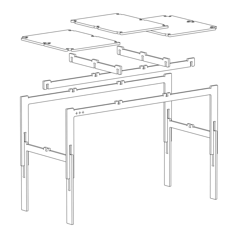 Fraaiheid tafel montage