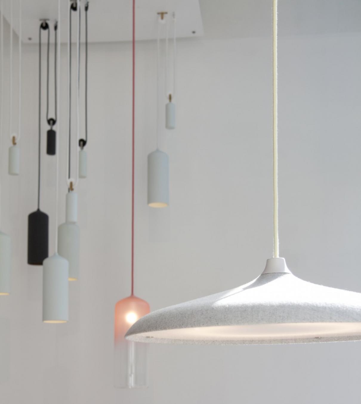 Intuïtieve hanglamp van Studio WM