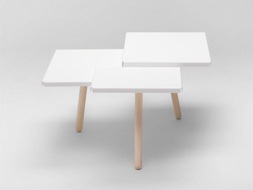 Tablefields koffietafel wit van Fredrik Roijé
