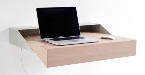 Minimalistische werkplek Deskbox van Raw Edges voor Arco
