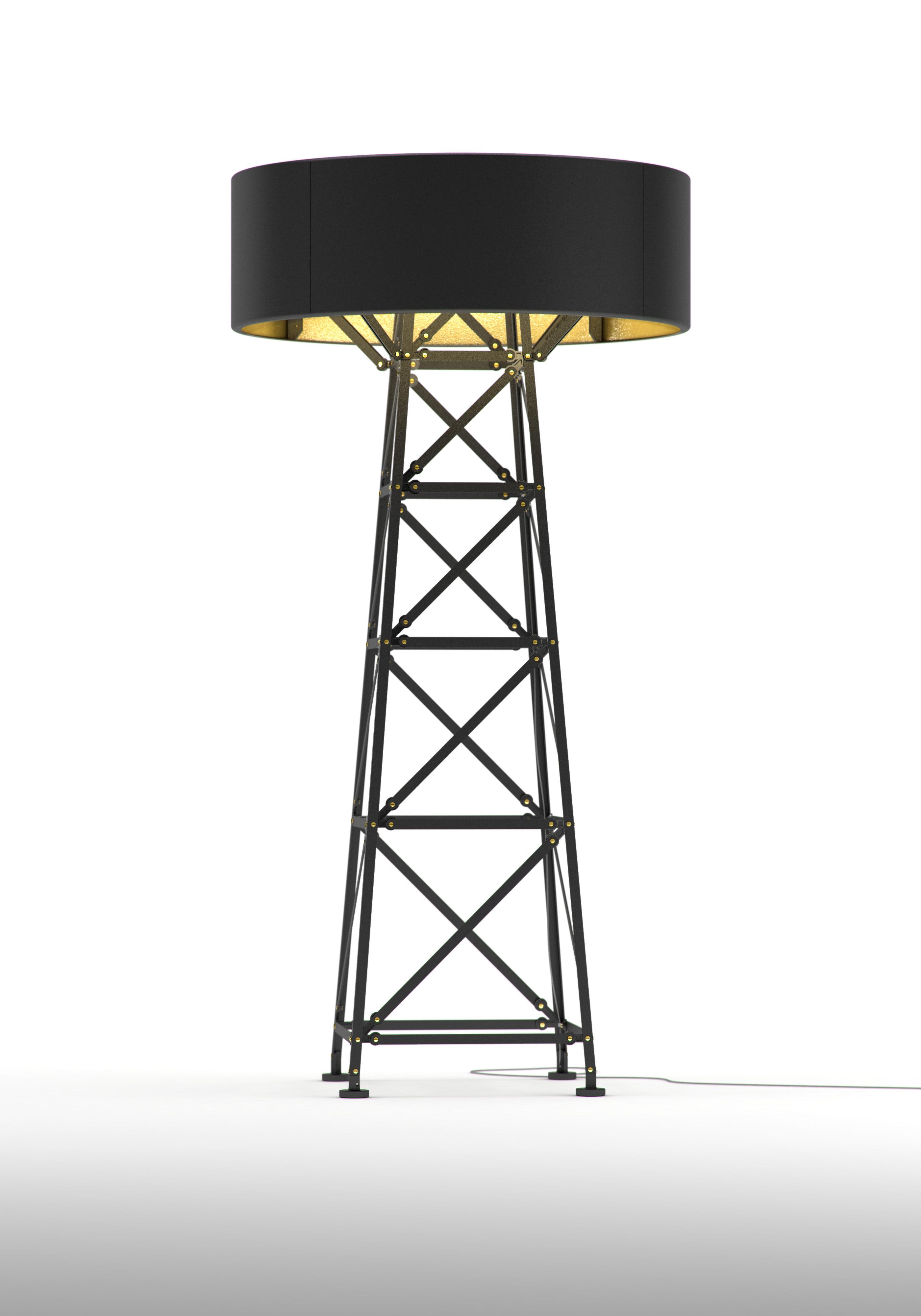 Construction Lamp mat zwart  L 180 van Joost van Bleiswijk voor Moooi