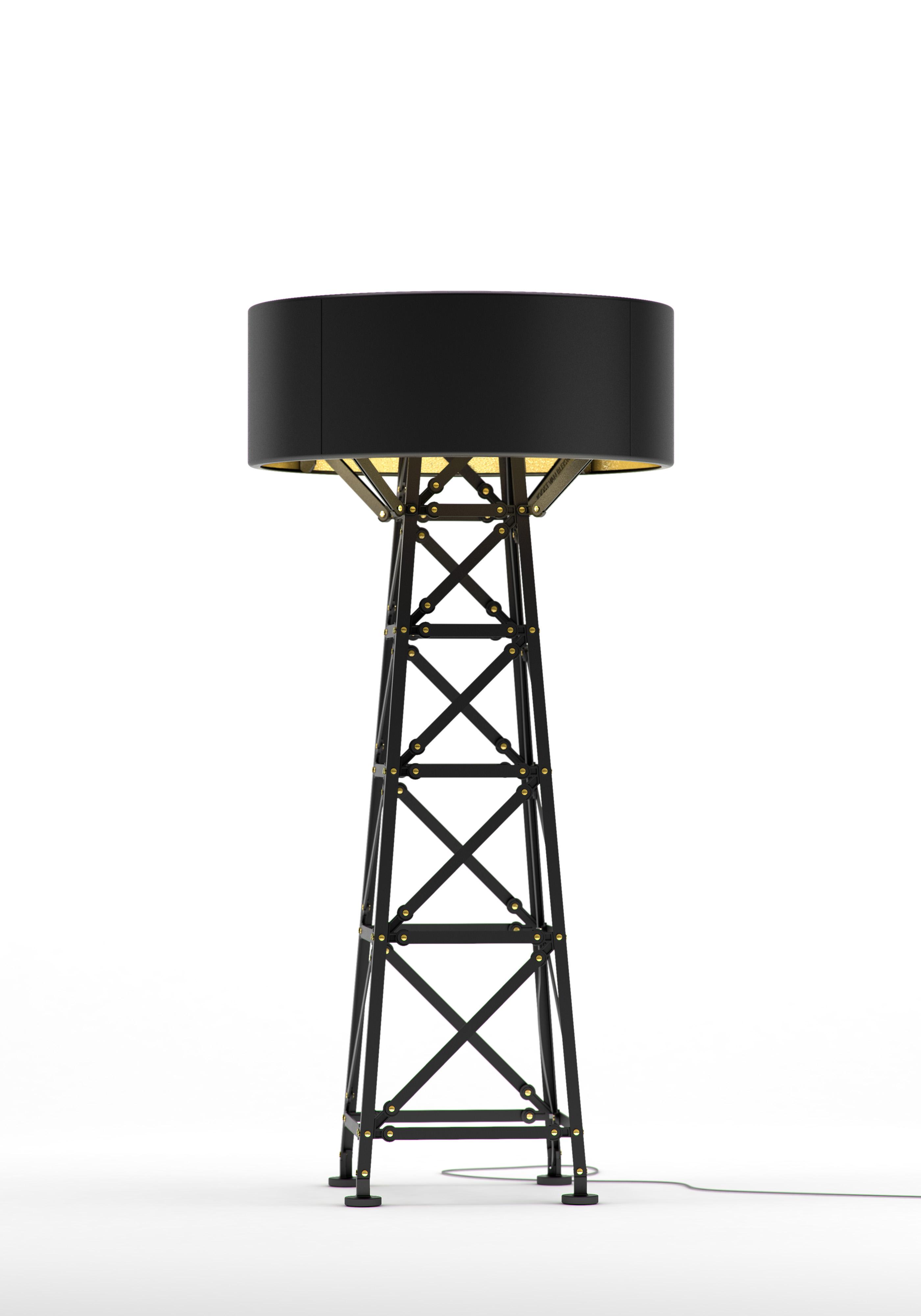 Construction Lamp mat zwart  M 120 van Joost van Bleiswijk voor Moooi