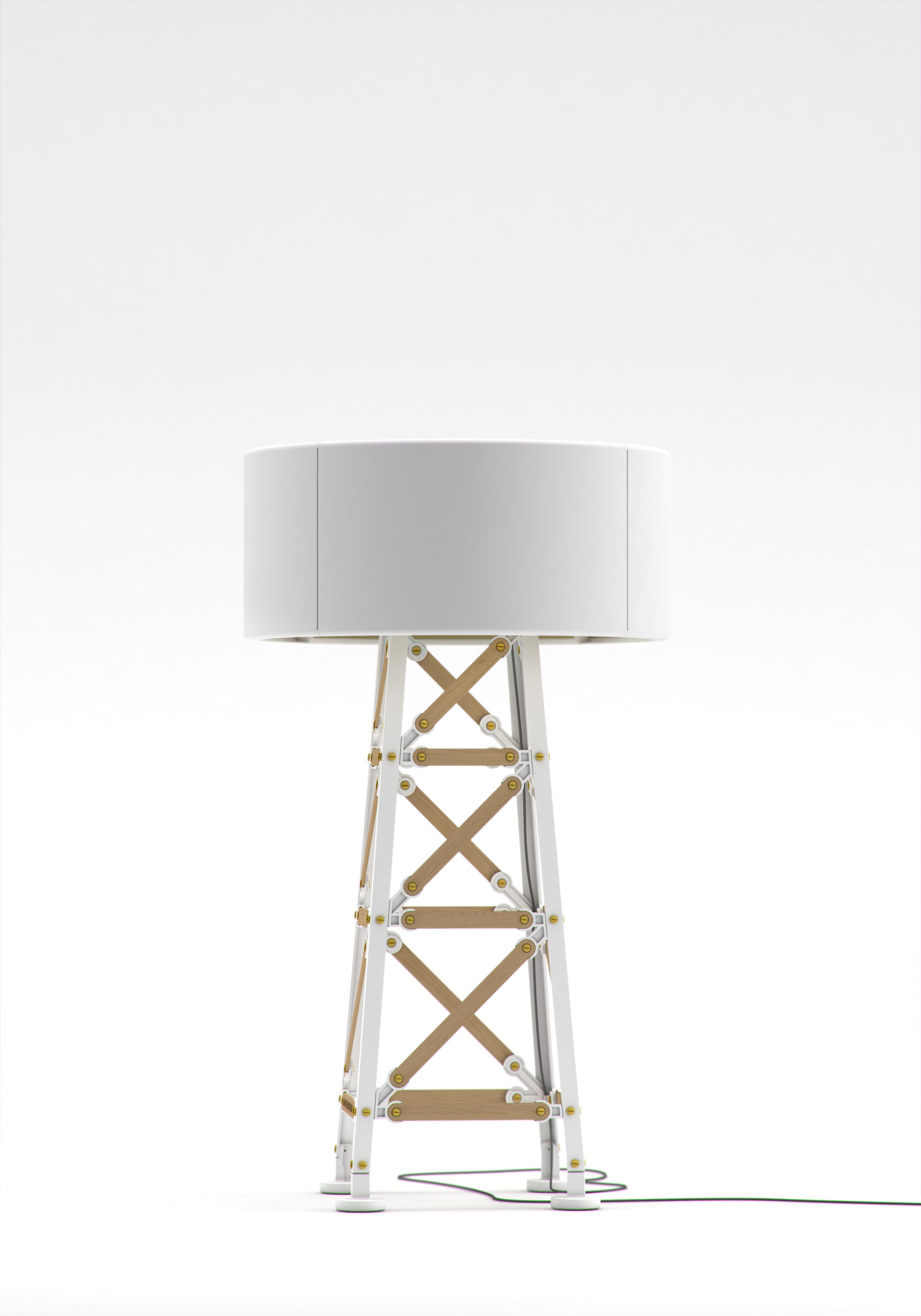 Construction Lamp wit hout  S 80 van Joost van Bleiswijk voor Moooi
