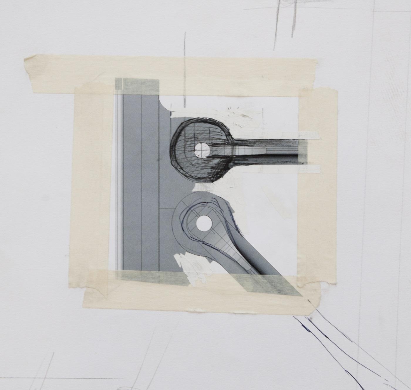 Construction Lamp schets van Joost van Bleiswijk