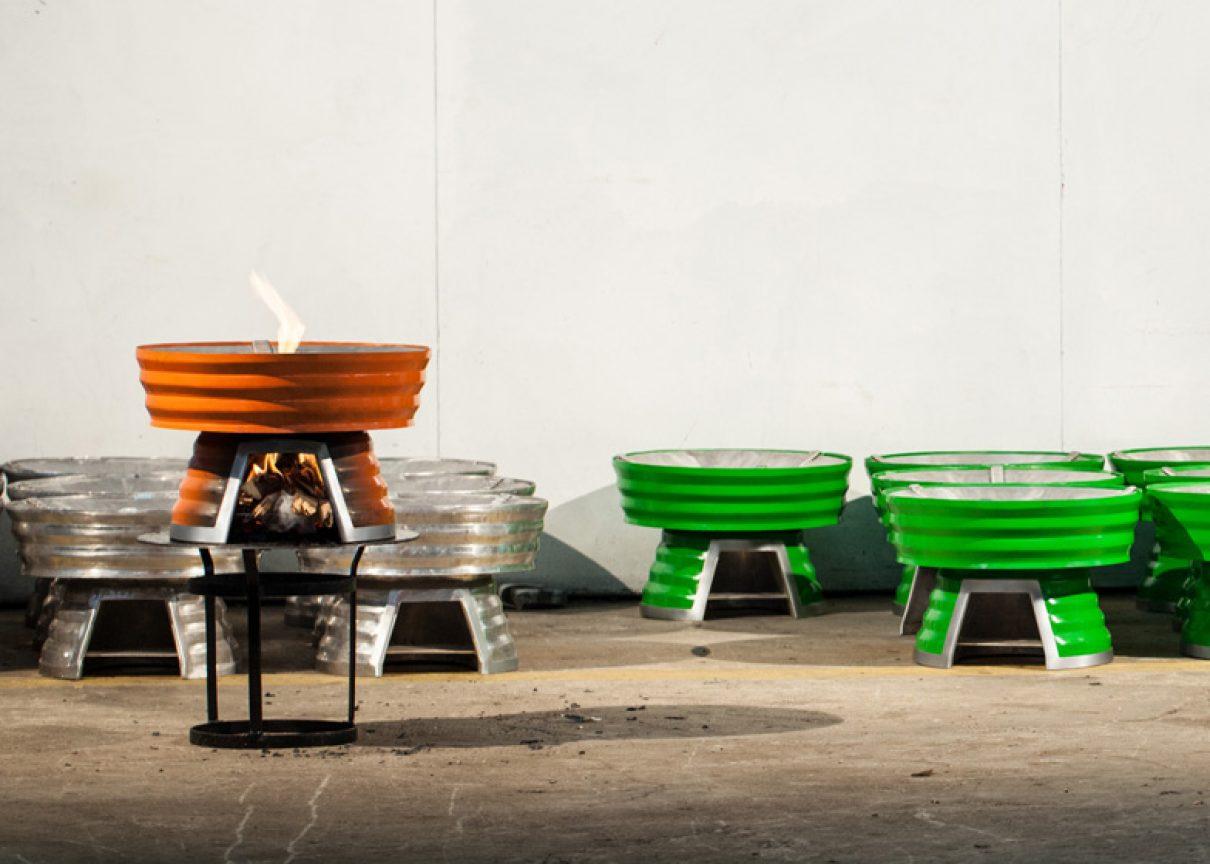 Zweeds design meets Afrikaans fornuis
