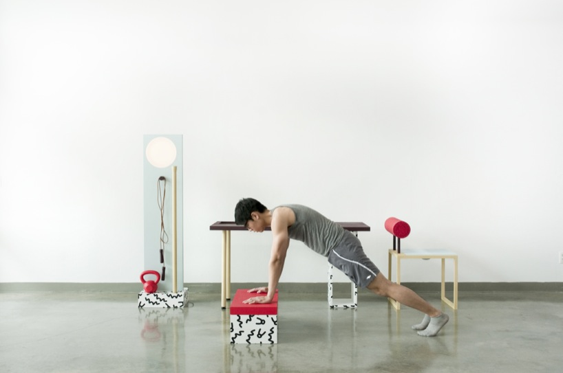 Design gym No Sweat van Darrel Agawin