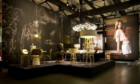 Construction Lamp van Joost van Bleiswijk voor Moooi tijdens Salone del Mobile 2013