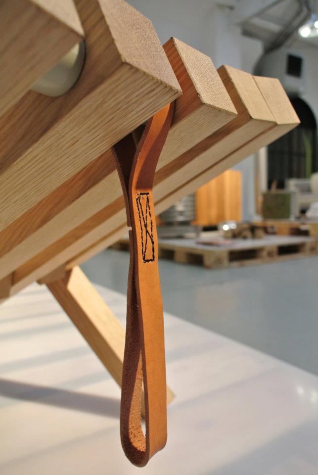 Stoel Fieldchair detail