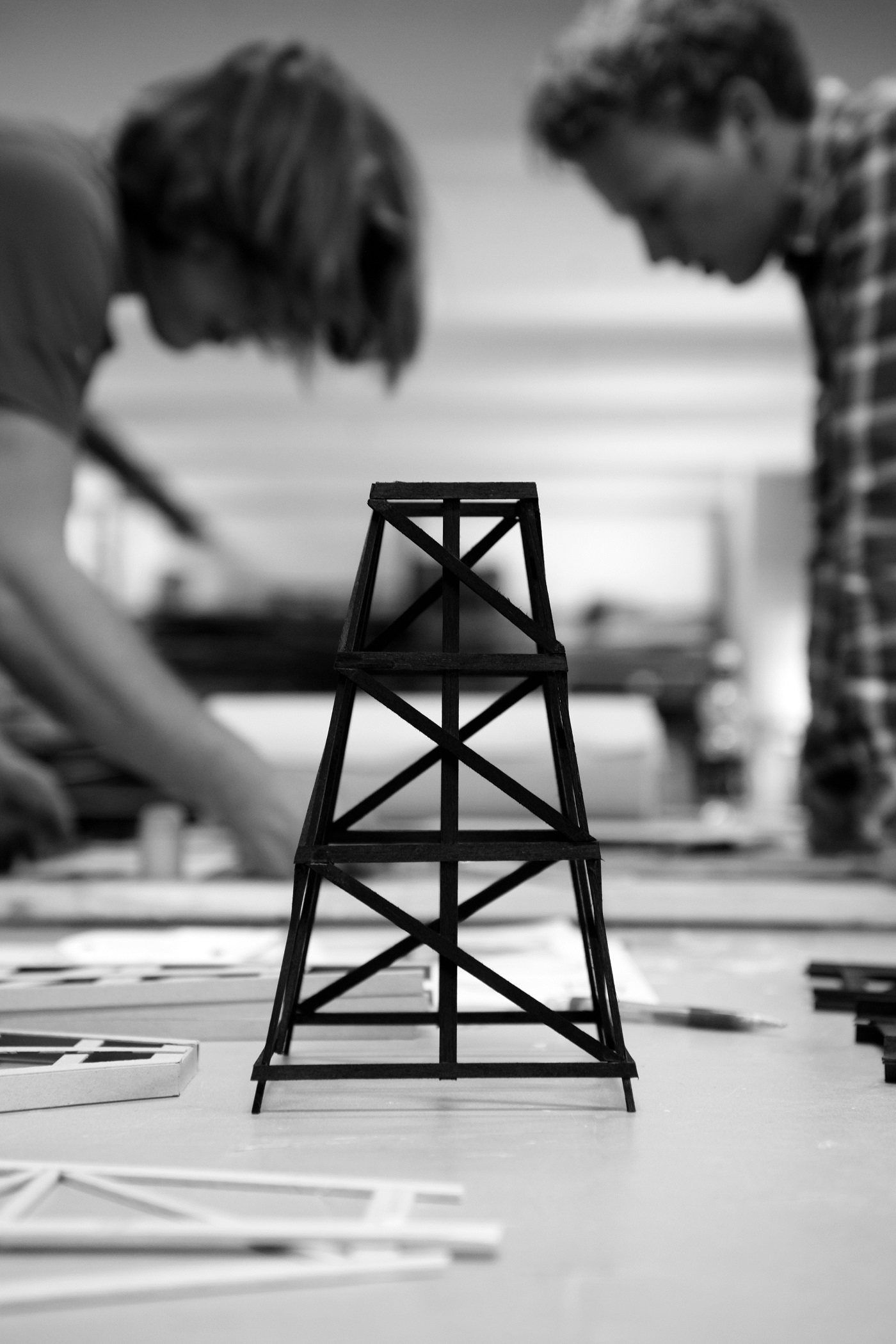 Construction lamp van Joost van Bleiswijk werkplaats foto´s