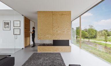 Minimalistische villa in de duinen