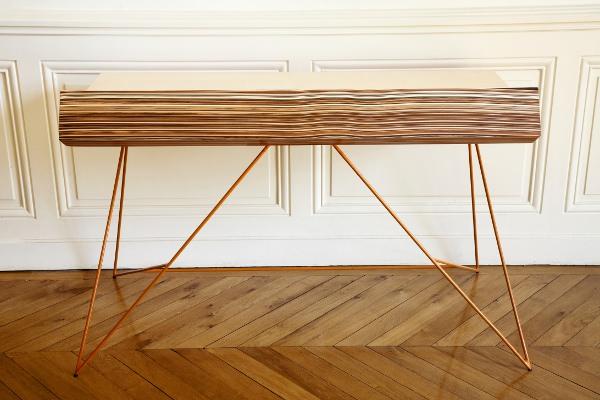 kleurrijk bureau subductie van paul venaille. Black Bedroom Furniture Sets. Home Design Ideas
