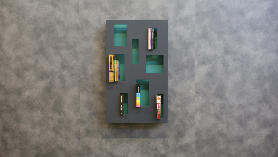 Boekenkast Emma van Davide Conti