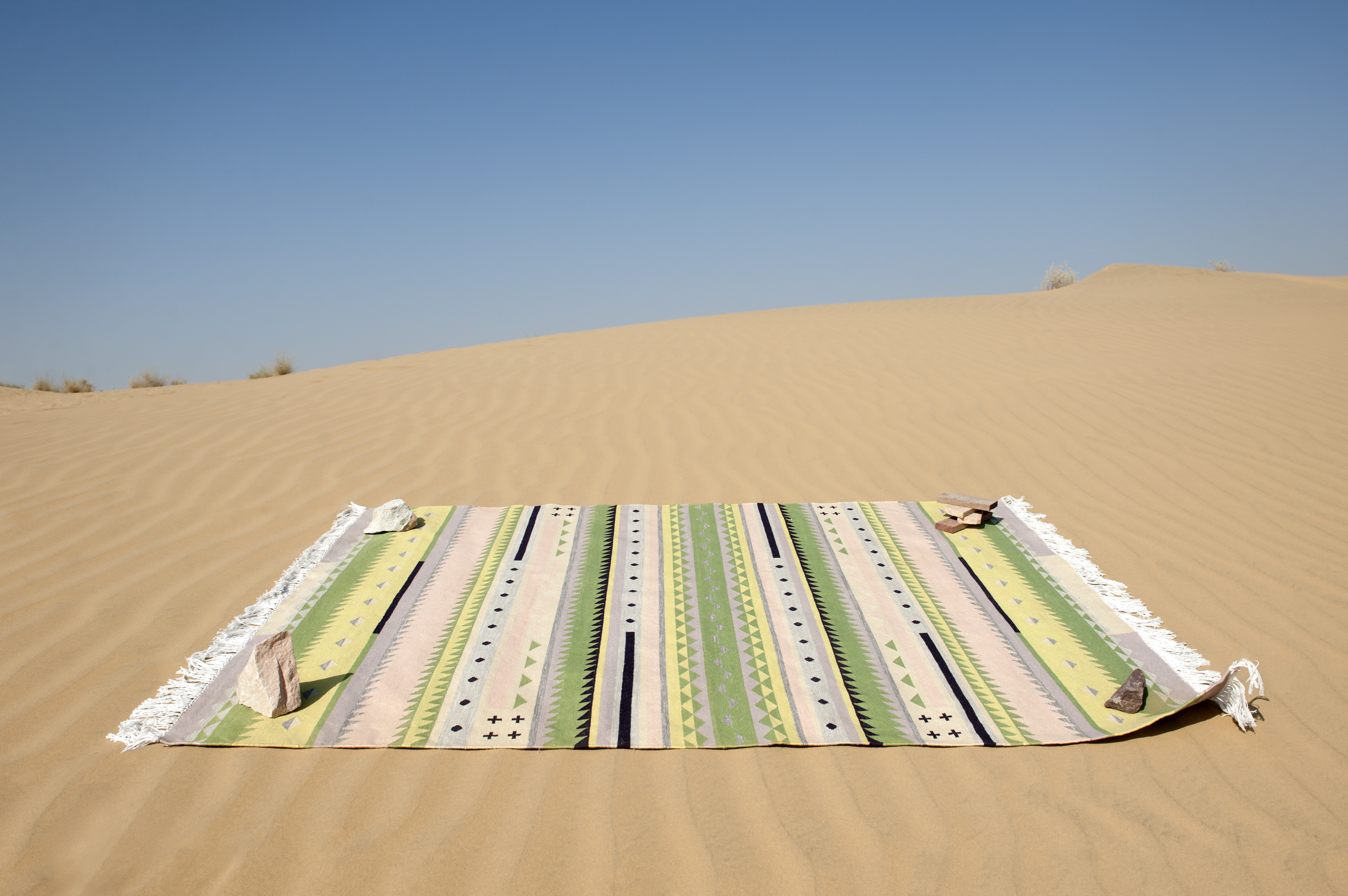 Bastian Dhurrie tapijten van Oyyo