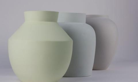 Curiouse vase van Mianne de Vries