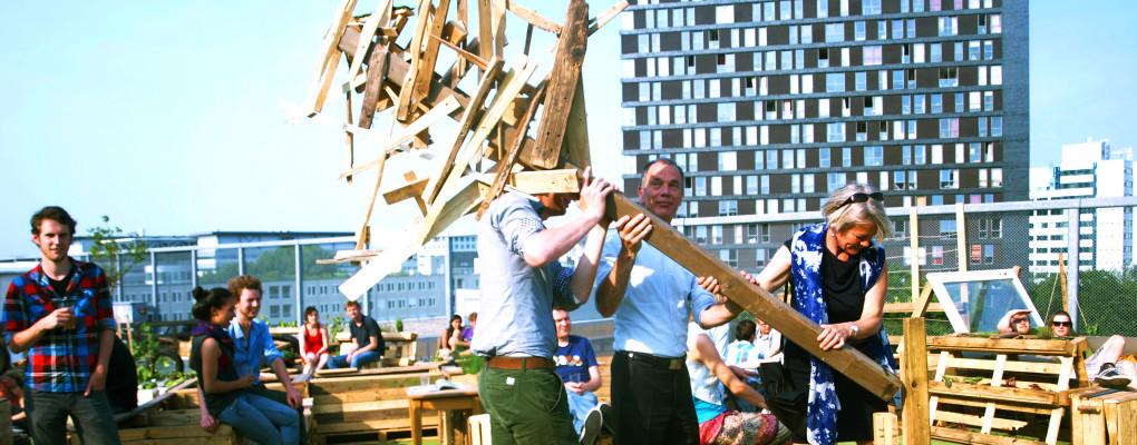 Opening Daktuin Utrecht