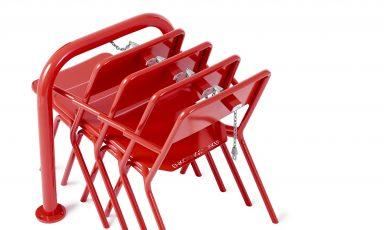 Share, een openbare stoel om mee te pakken