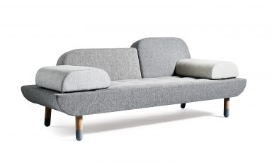 Toward Sofa, 3 in 1 patchwork bank