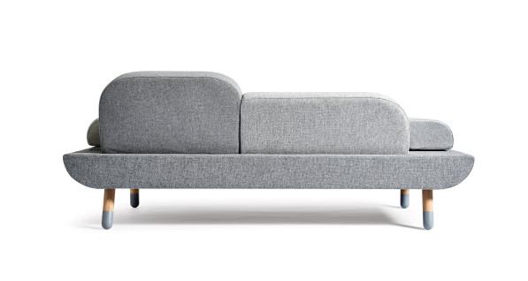 Toward sofa van Anne Boysen voor Erik Jorgensen