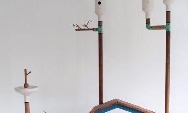 Vrolijk vogelhuisje van Vincent Bos