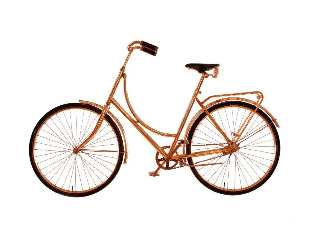 De koperen fiets
